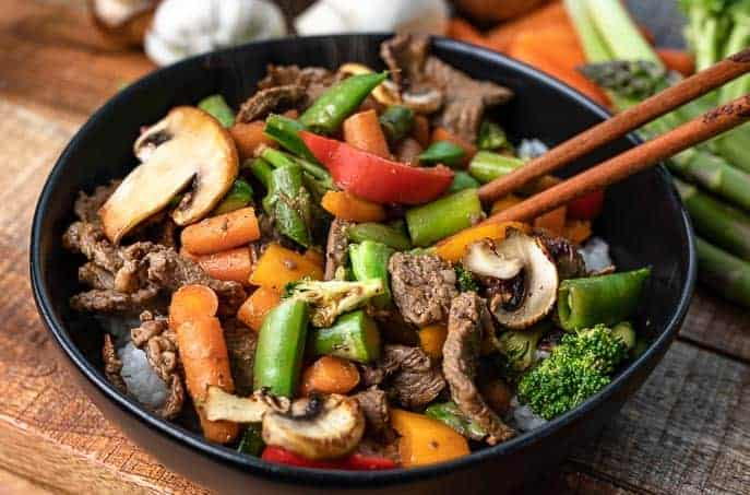 Clean Out Your Refrigerator Stir Fry Recipe Gourmet Done Skinny